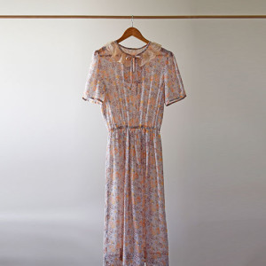 Peach-Floral-Dress_Set
